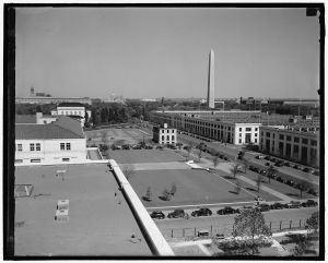 View from then-new Federal Reserve building, May 1937, courtesy LOC archives