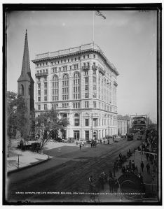 Metropolitan Life Insurance Building, New York building NYC  c1900 courtesy LOC